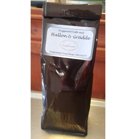 Kaffe- hallon & grädd