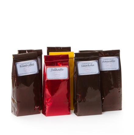 Kaffe-Choklad och Lakrits
