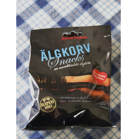 Älgkorv-snacks